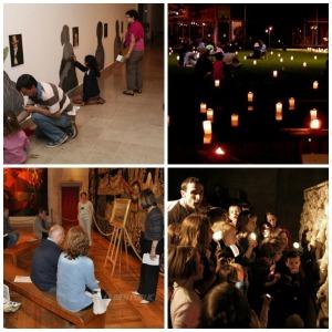 Copiii la Noaptea Muzeelor 2015 1 Collage