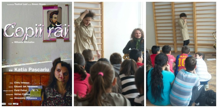 Katia Pascariu teatru educational Collage