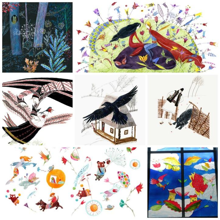 Cristiana Radu - povesti romanesti Collage