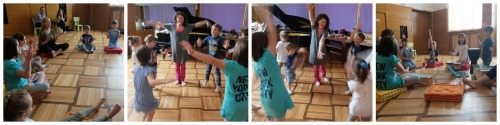Educatie muzicala Dalcroze Orff 2 Collage