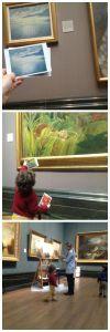 e la national gallery roata mare Collage