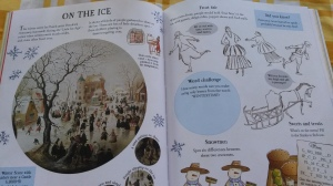 art activity book usborne roata mare