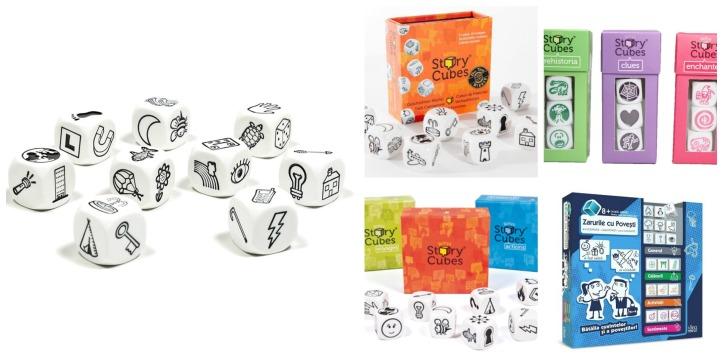 zarurile cu povesti story cubes Collage