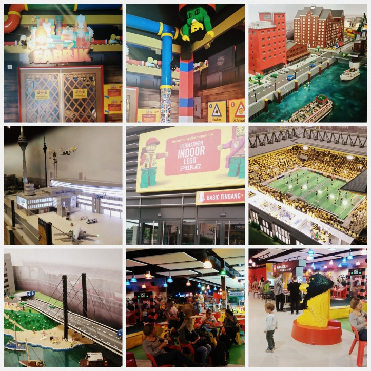 Lego Land Oberhausen Collage